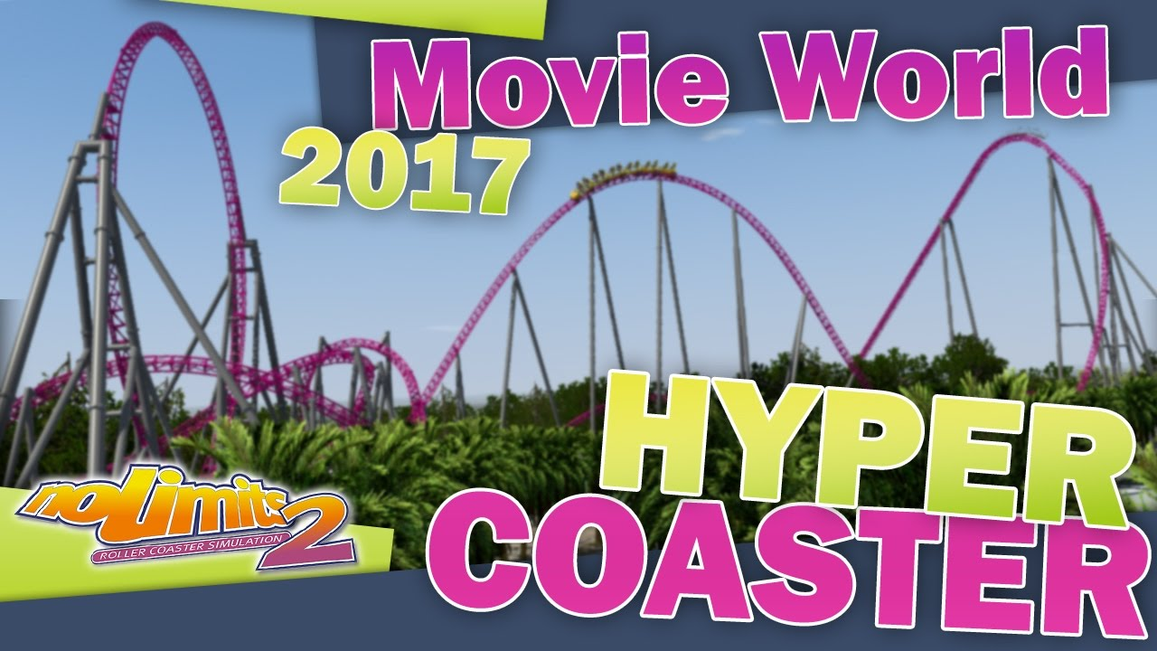 Nl2 hyper coaster movie world australia 2017 youtube nl2 hyper coaster movie world australia 2017 gumiabroncs