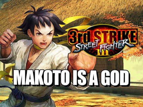 MAKOTO IS A GOD : 3rd Strike - The Online Warrior Episode 72