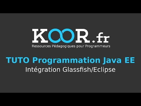 TUTO Java EE : Intégration Glassfish/Eclipse