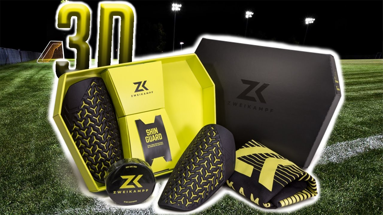 size 40 4dd66 a5471 ZWEIKAMPF shin guard - the first ever 3D-printed shin guards - REVIEW