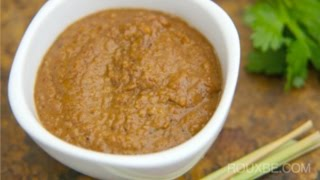 How to make Indonesian Peanut Sauce