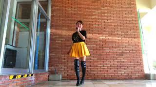 安室奈美恵さんのHow do you feel now踊ってみました。