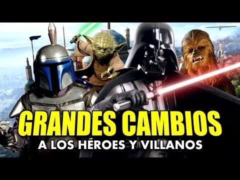 GRANDES CAMBIOS en los HÉROES   STAR WARS BATTLEFRONT 2 thumbnail