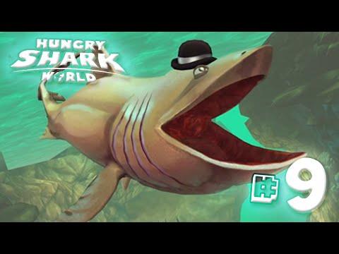Basking Shark!! - Hungry Shark World | Ep9 HD