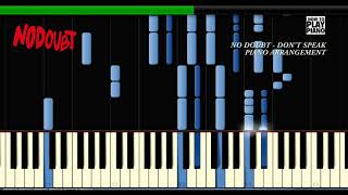 No doubt - don't speak (piano arrangement)2 pianos
