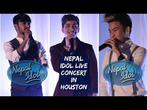 Nepal Idol Live Concert In Houston    Buddha   Nishan   Pratap Performing Vlog