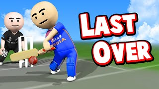 3D ANIM COMEDY - CRICKET INDIA VS NEWZEALAND || LAST OVER || ODI