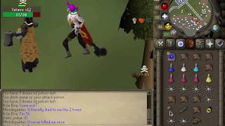 OSRS- Oldschool runescape pure pking - maxed