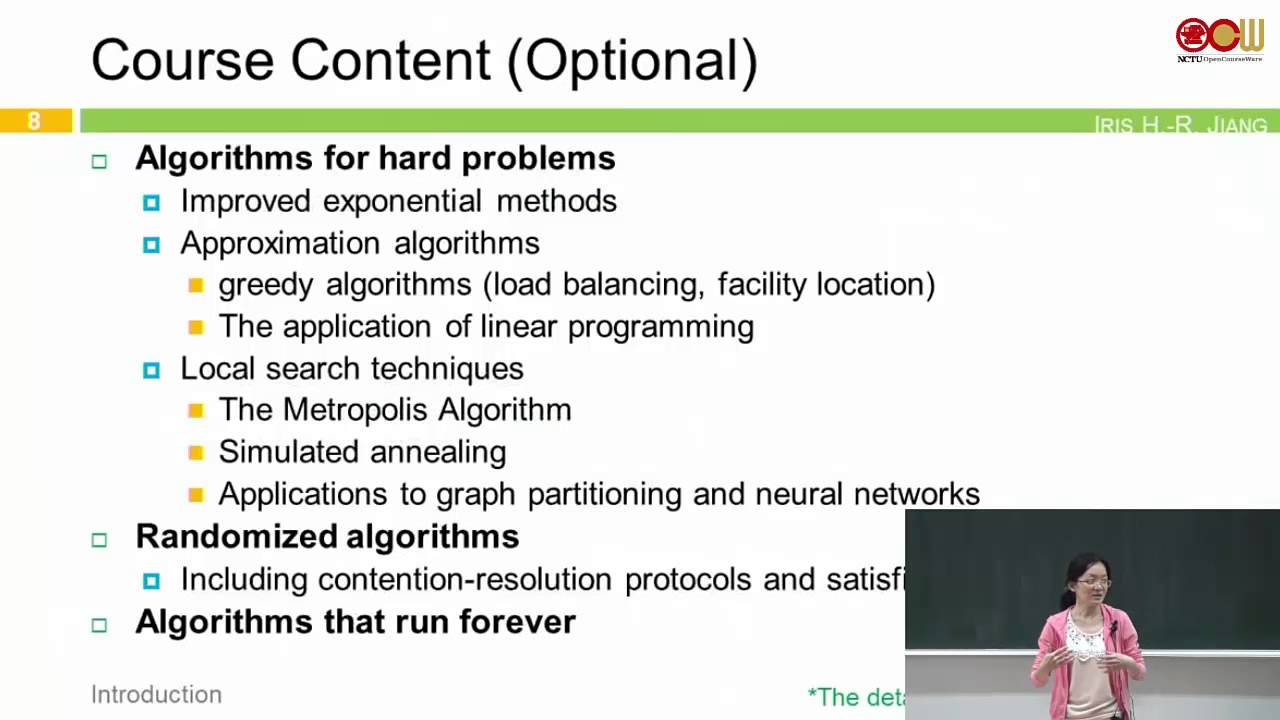 Lec01 演算法 第一週課程 (1/2) - YouTube