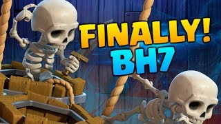 FINALLY! Upgrading to BH7 in Clash of Clans - CoC Builder Base Attack Strategy and Let's Play #26