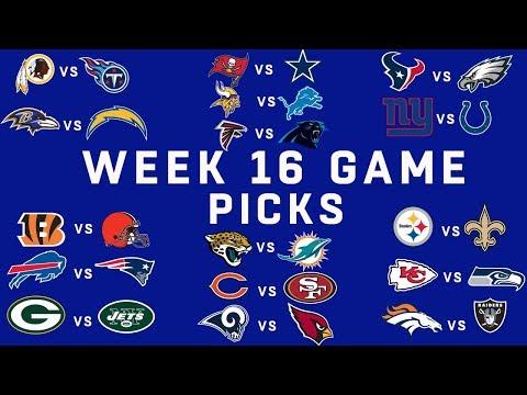 Week 16 NFL Game Picks | NFL