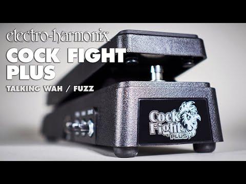 Electro-Harmonix Cock Fight Plus Talking Wah & Fuzz