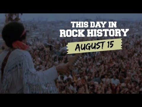 Woodstock Begins, Peter Gabriel Leaves Genesis - August 15 in Rock History