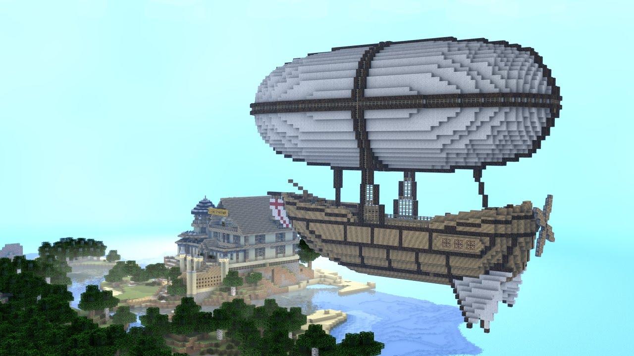 Monster School (Preschool) - Zeppelin Ride to New School ...