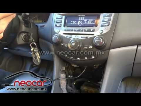 2005 Honda Accord Auxiliary Port Install Aux Port Inst