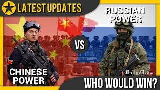 China vs Russia - Military Power Comparison 2018 (Latest Updates)