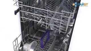 видео Посудомоечная машина узкая Beko DFS 05010 S
