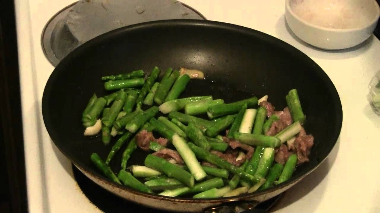 Beef And Asparagus Fast Chinese Cooking