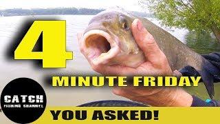 FISHING IRISH STYLE, FREEZING CASTERS, SINKING BRAID - 4 MINUTE FRIDAY!