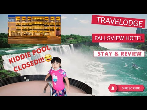 NIAGARA FALLS(Part 1 Of 4): TRAVELODGE FALLSVIEW HOTEL STAY & REVIEW