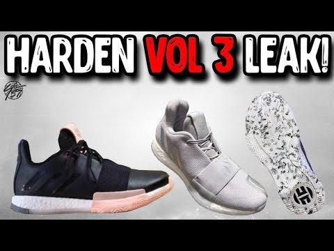 Adidas Harden Vol 3 Leak!