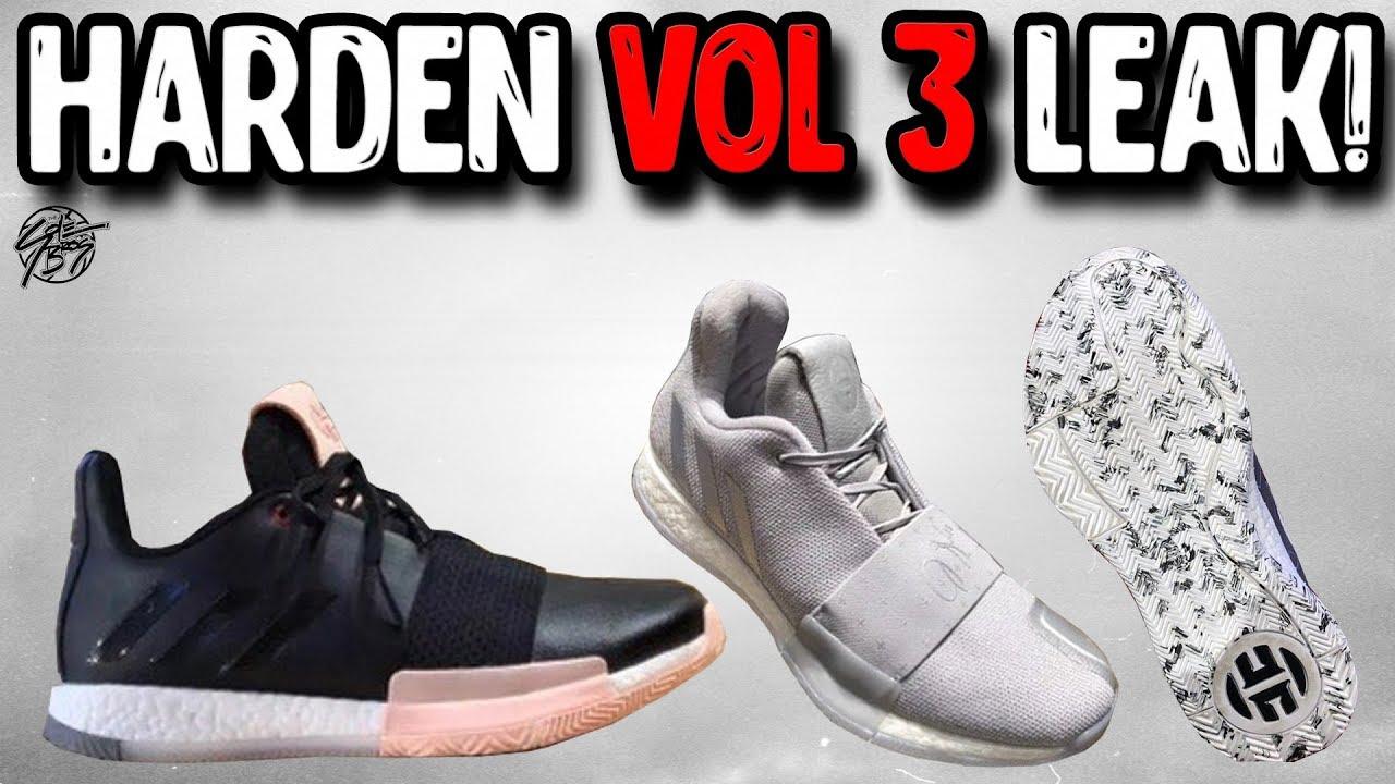 c38d5d94633 Adidas Harden Vol 3 Leak! - YouTube