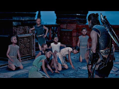 Assassin's Creed Odyssey - Telling Story To Children (Goes Wrong)