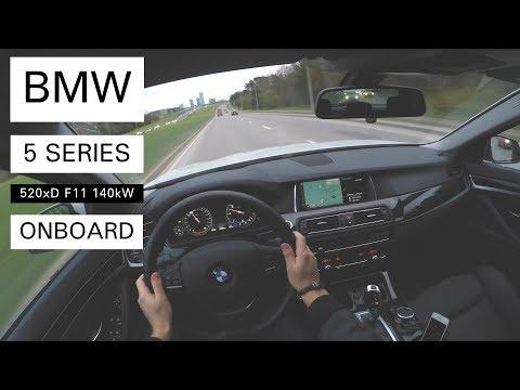 BMW 520d xDrive Touring F11 Onboard POV