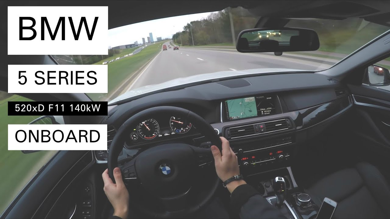 bmw 520d xdrive touring f11 onboard pov youtube. Black Bedroom Furniture Sets. Home Design Ideas