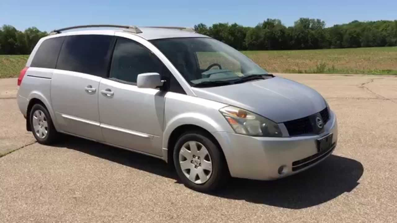 2006 nissan quest silver 3 5l v6 92k miles captains chairs call text paul at 269 830 8748 youtube