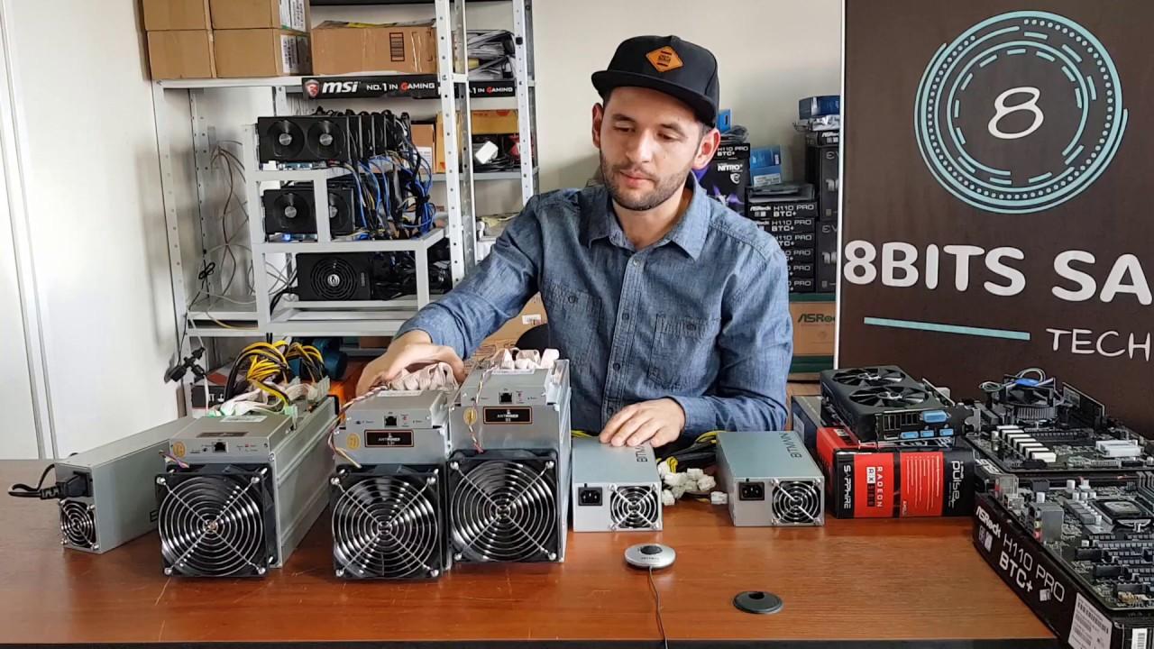 vívido y de gran estilo oferta especial varios estilos Como minar Bitcoin Litecoin con Asic Antminer S9 L3+ D3 Bitmain ...