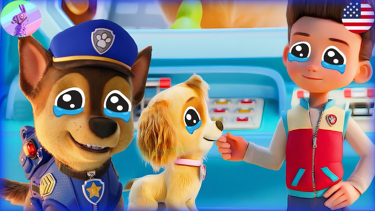 PAW Patrol The Movie Trailer +Mighty Pups on A Roll -Pups Robot Rescue Mission👀 -Nick Jr HD