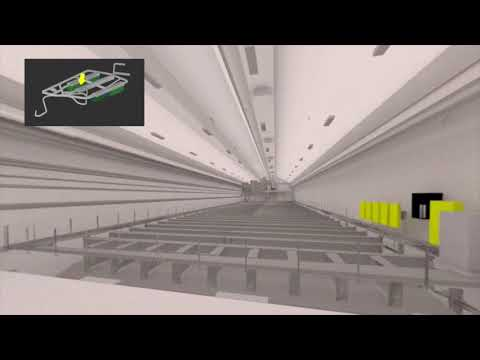Virtual Walk: The Construction of the Long Baseline Neutrino Facility