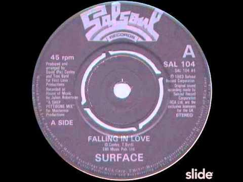 surface   falling in love