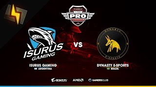[ES] Isurus Gaming vs Dynasty E-Sports | Liga PRO GC de Noviembre | GRUPOS | BO1 | Overpass