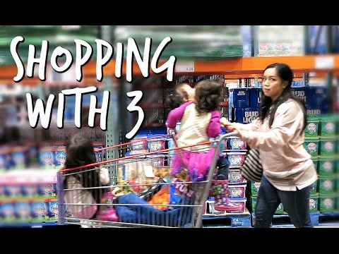 Shopping with 3 - February 28, 2017 -  ItsJudysLife Vlogs