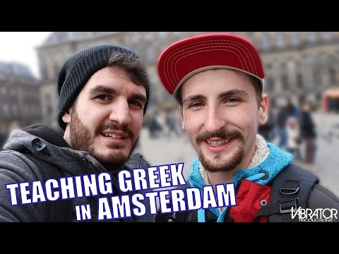 TEACHING GREEK IN AMSTERDAM!!!
