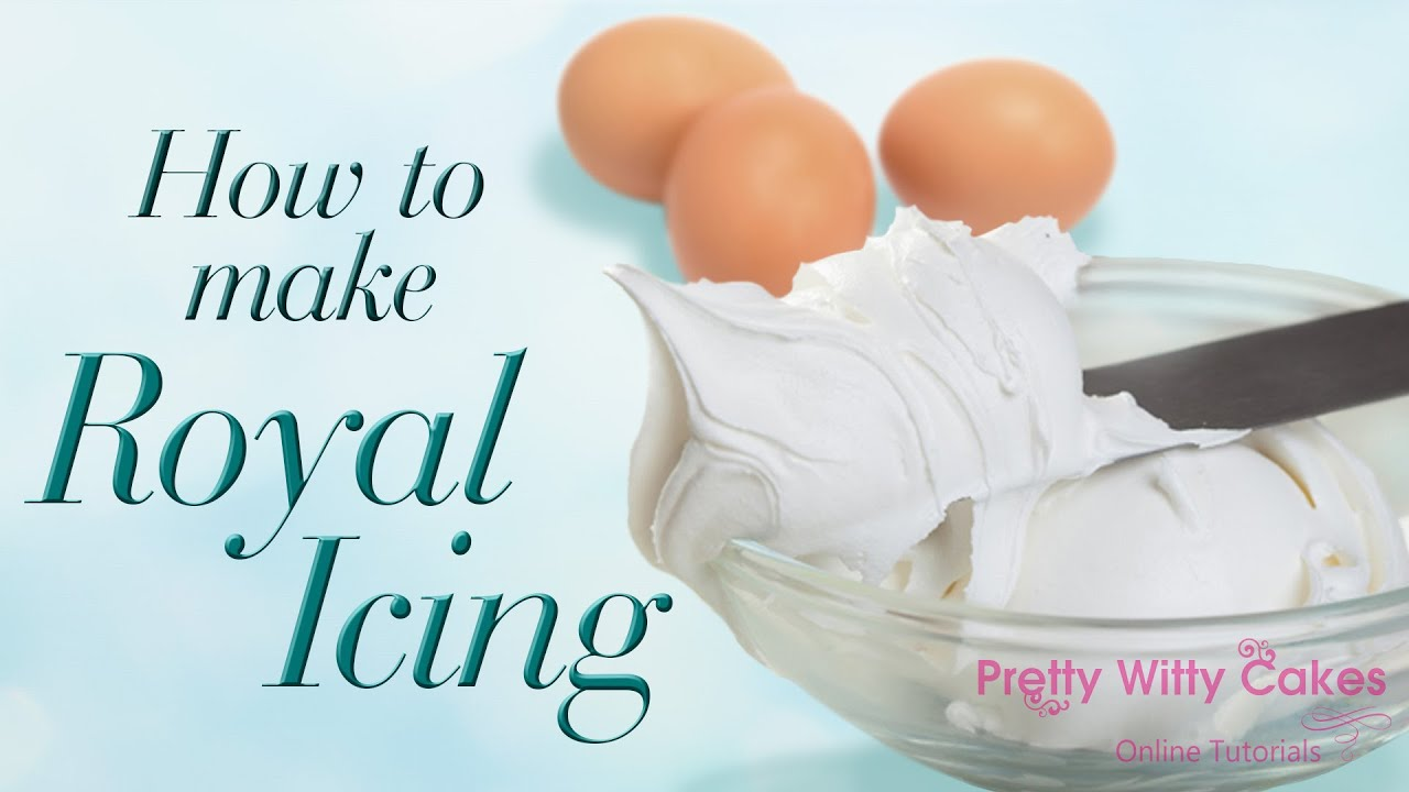 How To Make Royal Icing Pretty Witty Cakes Youtube