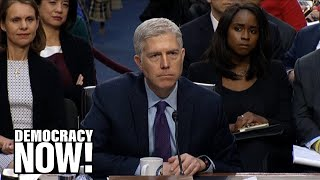Neil Gorsuch, Backed by $10 Million in Dark Money, Refuses to Weigh In on Citizens United