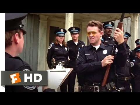 Police Academy (1984) - Come With Me! Scene (5/9) | Movieclips