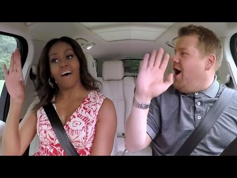 Michelle Obama Channels Beyonce In Carpool Karaoke Sneak Peek