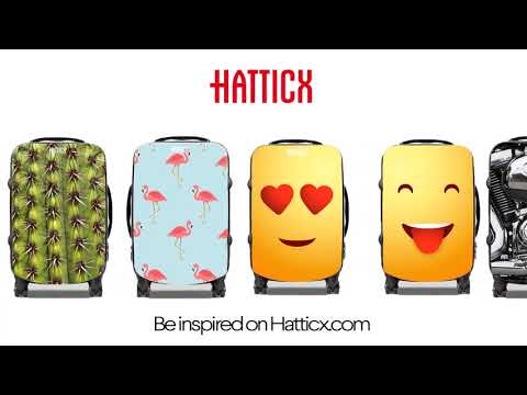 Design your own carry-on luggage. Travel in style. Hatticx Suitcases.