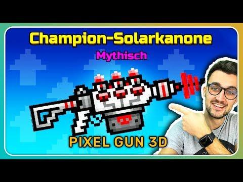 Champion Solarkanone gekauft! Besser als die Geisterlaterne? | Pixel Gun 3D [Deutsch]
