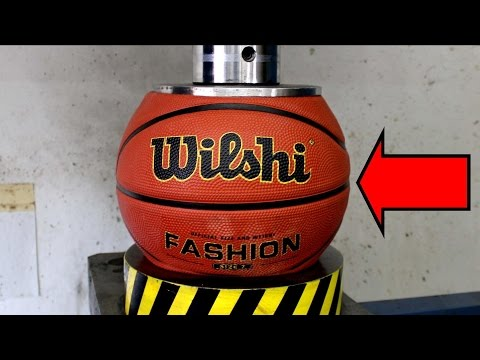 Thumbnail: EXPERIMENT HYDRAULIC PRESS 100 TON vs BASKETBALL