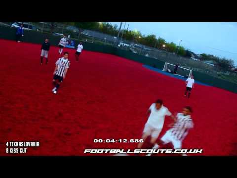 New The Secrets of Sports Direct wear on Football Scouts Match Tekkaslovakia VS Kiss Kut