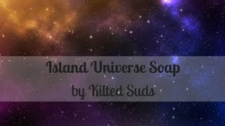 Island Universe Bar Soap | Cold Process Soap by Kilted Suds | Embed Soap