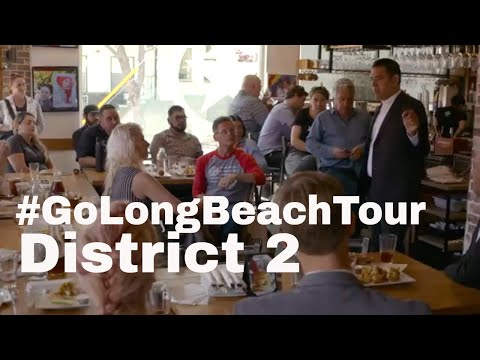 District Two with Mayor for Go Long Beach Tour