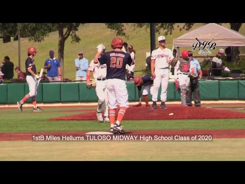 1stB Miles Hellums TULOSO MIDWAY High School Class of 2020