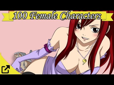 Top 100 Anime Female Characters List