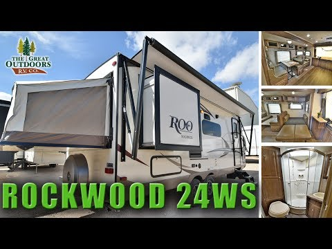 New Hybrid Expandable RV 2018 ROCKWOOD 24WS Pop Out Colorado Camper